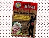 Zombie Invitation Photo Birthday Party Invite Zombie Hunter, Zombie Bash