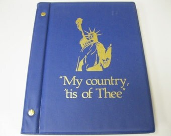 """Patriotic Book of American History Readings """"My Country 'tis of Thee"""" For All to Enjoy, Display or Crafts MUST Read Description Astonishing"""