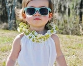 SALE Ruffle Neck Tunic Dress with Sash Spring Summer 2013 Collection by Papoose Clothing