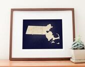 Boston, Massachusetts Love Print