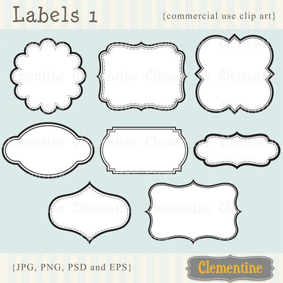 ... clip art, royalty-free, layered in PSD - ca109- Instant Download