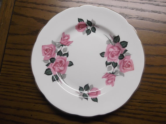 "Regency of England 8""D Plate- circa 1953-present-  DS"