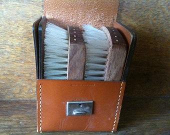 Vintage English Brush Set / English Shop