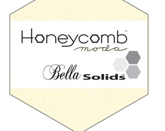 SALE Snow Bella Solids Honeycomb by Moda