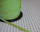 5 Yards Light Green Sequin Trim - 01