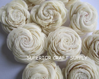 Sola Shell flowers  -- SET of 50 -- Natural color