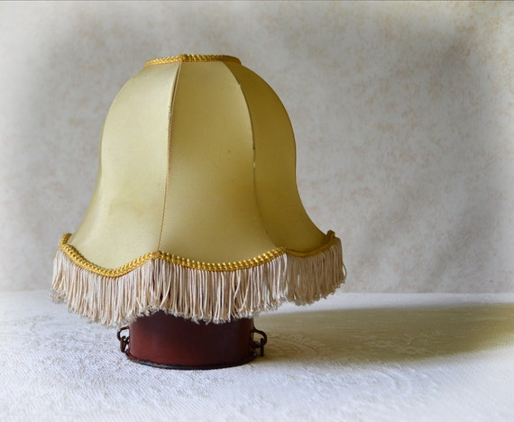 French Lampshade Bell shaped wire frame Table lamp shade