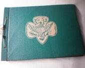 Vintage Girl Scout Unused Scrapbook
