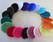 Five Miracle Nylon Dish Scrubbies - Choose your favorite colors