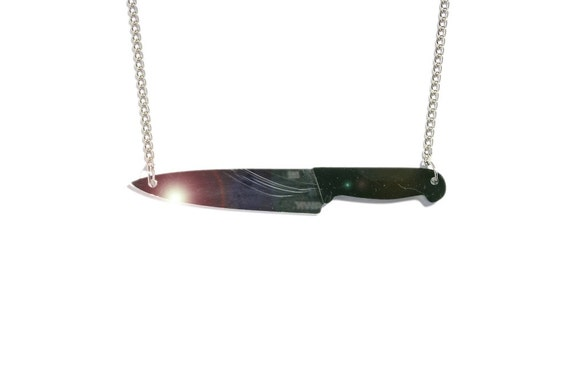 Oh, KNIFE necklace - Oh, TIGER PLEXIONAIRE serie
