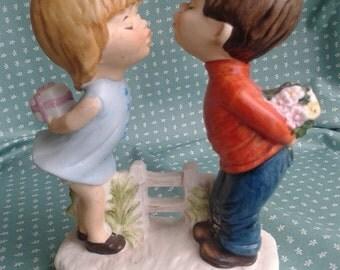 Vintage Moppets Fran Mar figurine 1971
