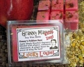 Lucky Louie Magick Spiced Apple Maple Bourbon Herbal Wax Melts for Magick, Prayer, Spells or Ritual
