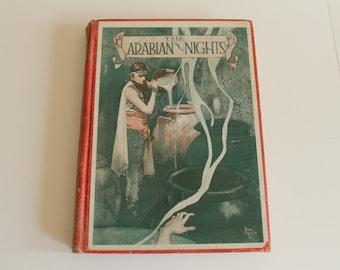 Vintage The Arabian Nights' Entertainments Hardback book McKay's Young People