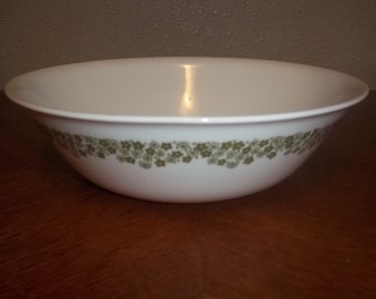 Crazy Daisy or Spring Blossom Corelle Serving Bowl 8 1/2 -  in great condition