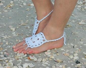Art Deco Barefoot Sandals, Barefoot Bride, Wedding Sandal, Beach Feet, Yoga Sandals, Art Deco Fashions, Womens Thong Sandal