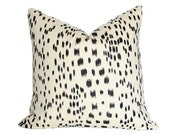 Les Touches Black Pillow Cover (Single-Sided) - Made-to-Order