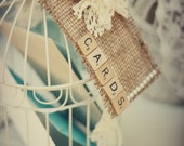 Vintage Wedding Scrabble Card Tags Party Decorations Gift Table Bridal Shower Baby Shower Rustic Decor Shabby Chic Tags