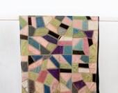 1900s Crazy Quilt, Patchwork Quilt