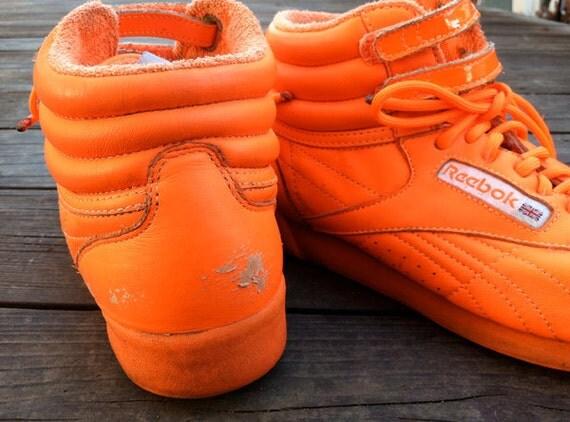 56df0de89269 reebok high tops orange Sale