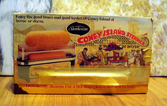 Sunbeam Coney Island Steamer Instructions
