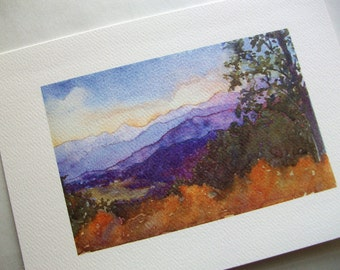 These Healing Mountains Card