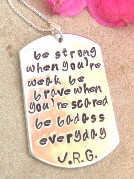 cancer inspirational necklace fight back to cancer be