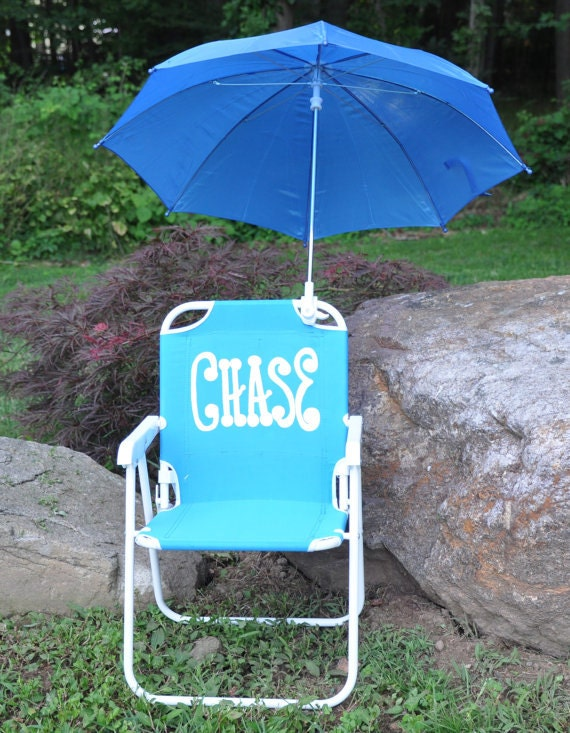 items similar to child 39 s beach chair lawn chair personalized with name on etsy. Black Bedroom Furniture Sets. Home Design Ideas