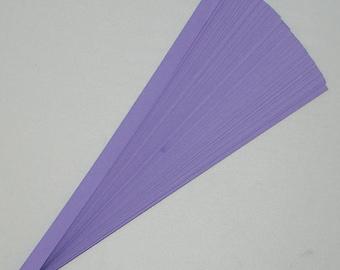 Grape Purple : Lucky Stars Paper Strips (100)