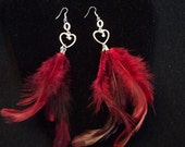 Feathered and Funky Earrings
