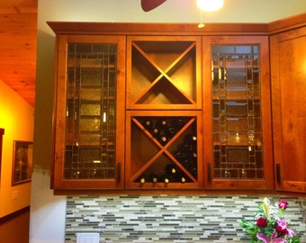 Custom Made To Order - Cabinet Inserts - Craftsman Style