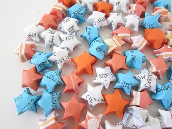 100 Just Keep Swimming. Finding Nemo Origami Stars