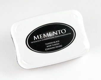 Memento Dye Ink Pad - Tuxedo Black (Full size)