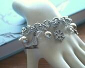 Snow and Ice Charm Bracelet