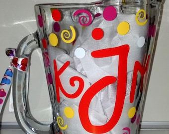 Personalized/Monogrammed Tea Pitcher