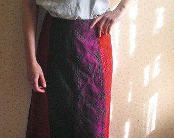 Vintage Saks Fifth Avenue Anne Klein Maxi Skirt