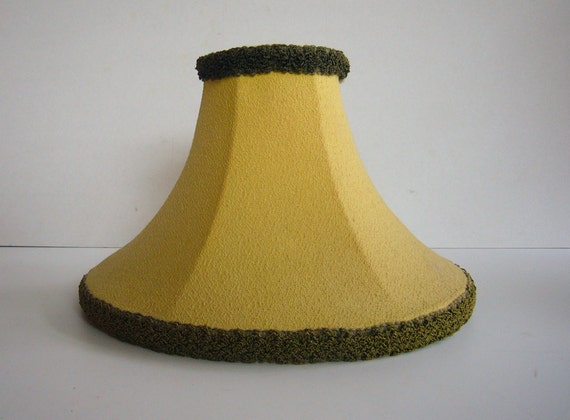 small mid century coolie reglor style lamp shade. Black Bedroom Furniture Sets. Home Design Ideas