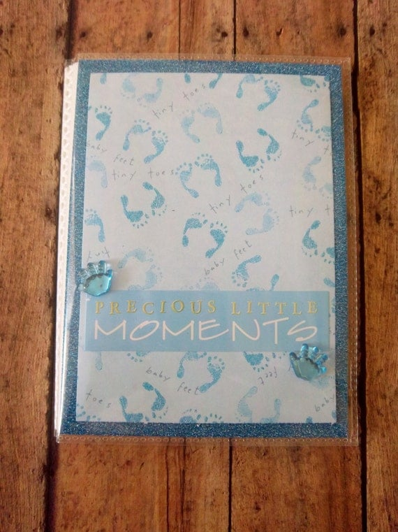 """Perfectly Blue 4"""" x 6"""" Photo Album - holds 24"""