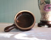 Dorchester Pottery Antique Collectible Ramekin Brown Pottery