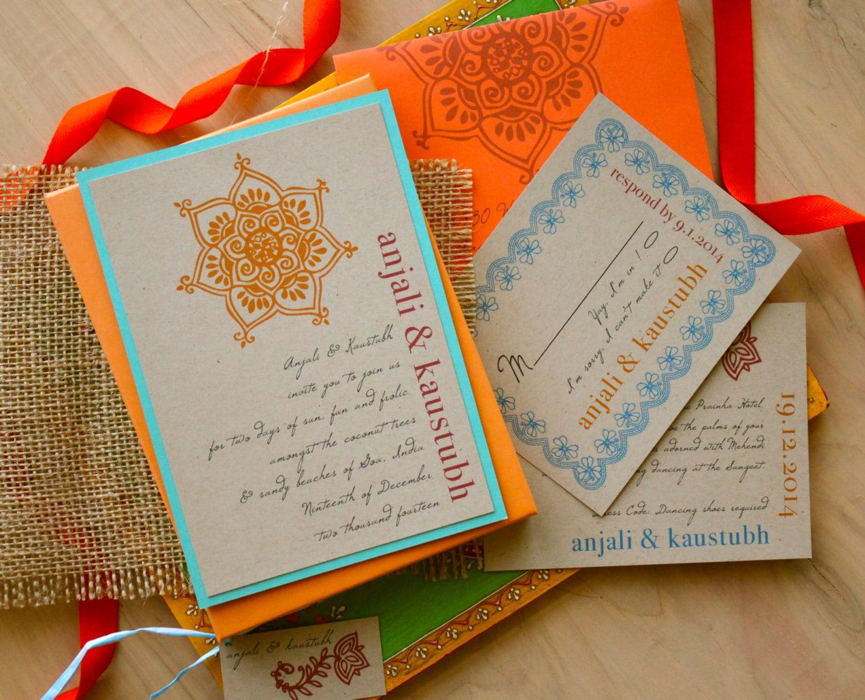 Box Of Wedding Invitations: Boxed Wedding Invitation Boho Rustic Box Wedding Invitations