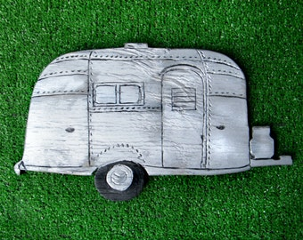 Retro Airstream Sign Airstream Trailer Wall Decor Wooden Wanderlust Camper Sign