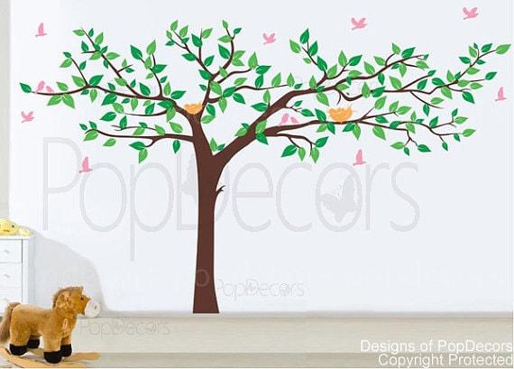 custom for TeresaKaiser - Colorful Super Big Tree Four Colors
