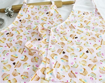 Cupcakes N Candies Mother Daughter Aprons
