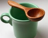 Cherry wood wooden spoon kitchen utensil coffee scoop measuring spoon