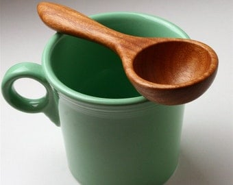 Cherry wood wooden spoon kitchen utensil coffee scoop measuring spoon