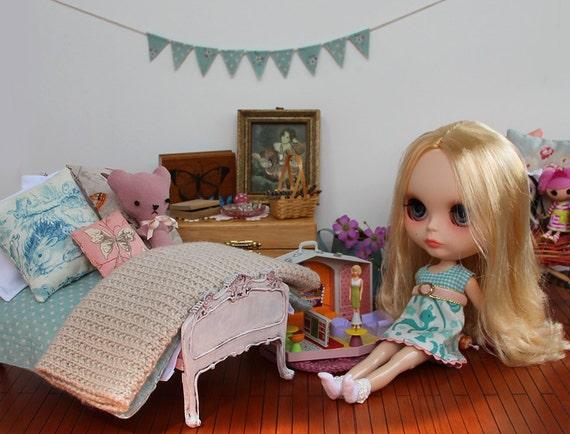 PATTERN Bedding Set For Playscale Dolls Blythe By Blythetoday