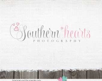Premade Logo - Heart Logo Premade Boutique Photography Logo Design