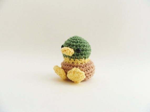 Amigurumi Duckling Crochet : Crochet Duck / Amigurumi Duck / Easter Chick by ...