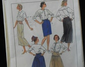 misses skirt in three  lengths sewing pattern Simplicity 8189 uncut