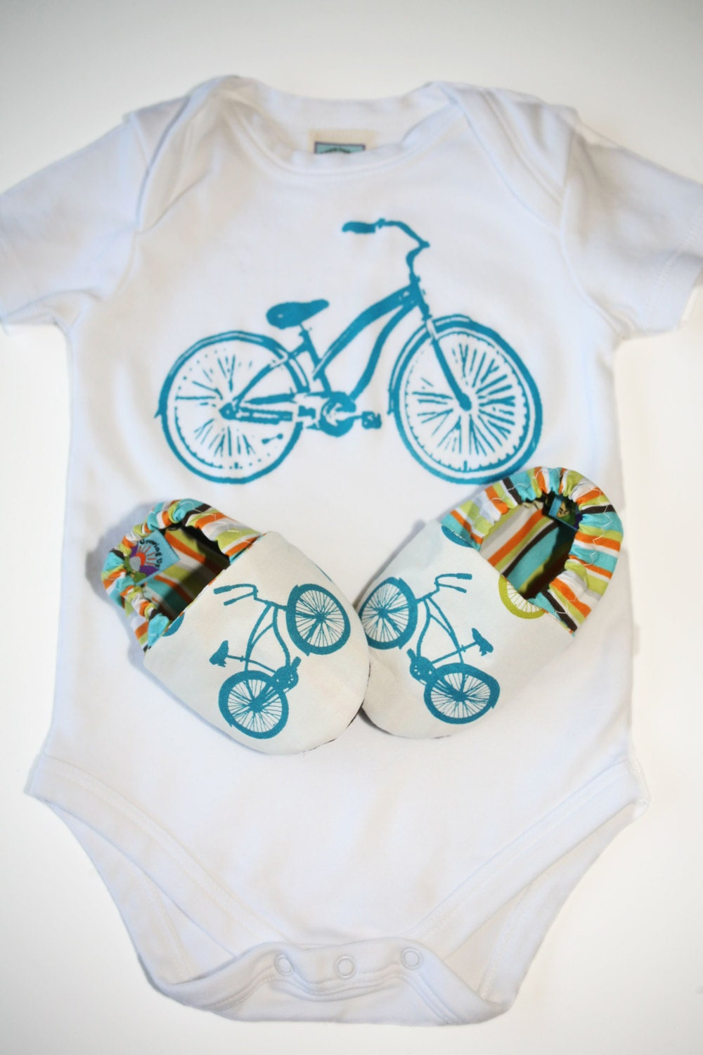 Bicycle Baby Gift Set Organic Cruiser Bike Shoes By
