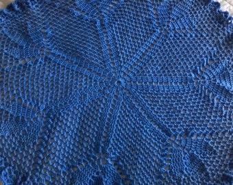 Crochet Circular Baby Blanket